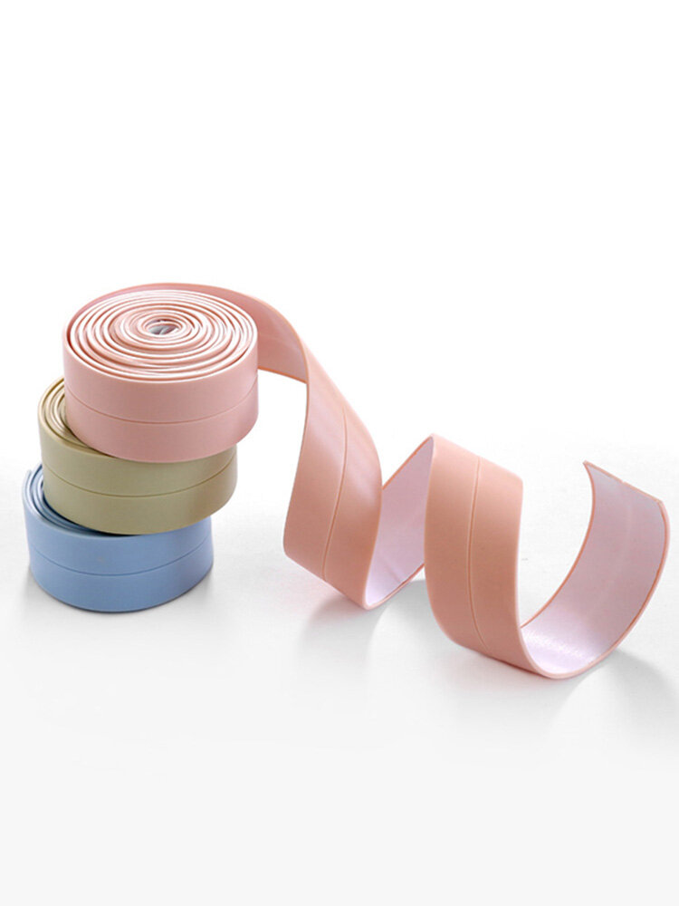 Gap Antifouling Waterproof Insulation Sealing Dust-proof Strips Bathroom Kitchen Supplies