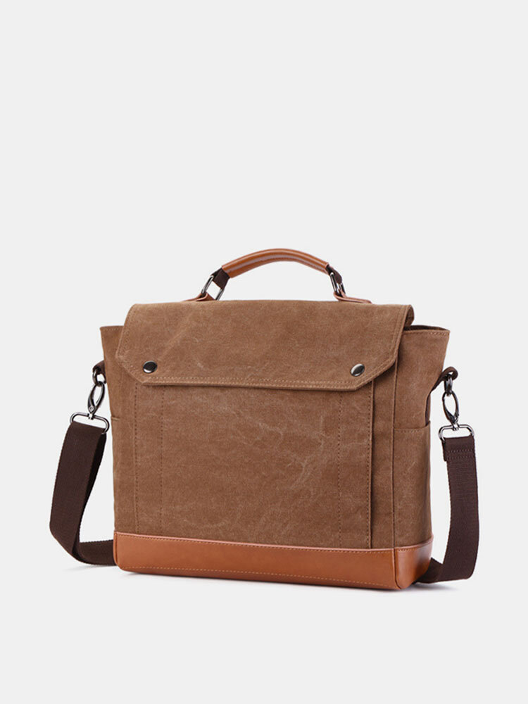 Canvas Business Casual Clutch Bag Crossbody Bag For Men
