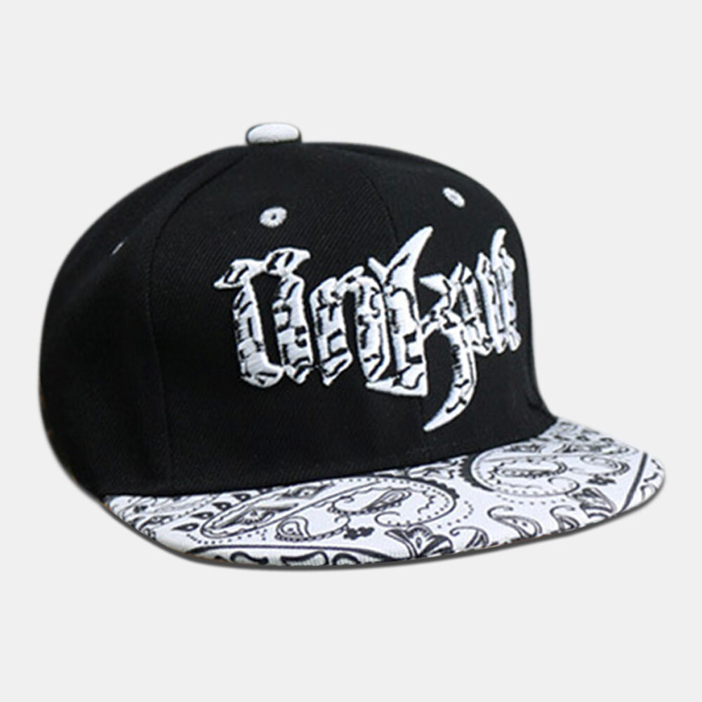 Children's Hip Hop Hat Flat Brim Hat Baseball Caps