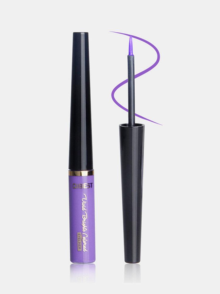 Matte Liquid Eyeliner Quick Dry Waterproof Eye Liner Pencil Brown Purple Color Eyeliner Cosmetic Makeup Tool