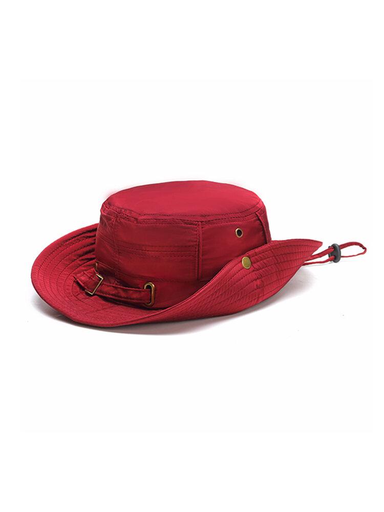 Women Summer Breathable Comfortable Fisherman Hat Outdoor Climbing Sunscreen Visor Bucket Hats