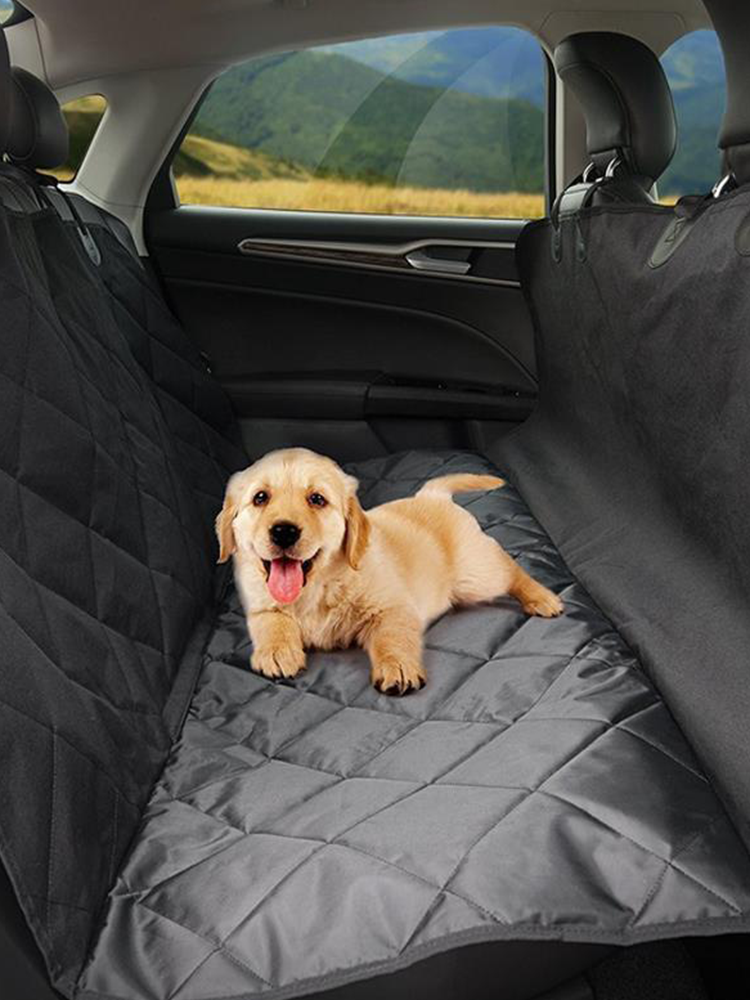 Waterproof Seat Cover Rear Back Car Pet Dog Travel Seat Mat Bench Protector