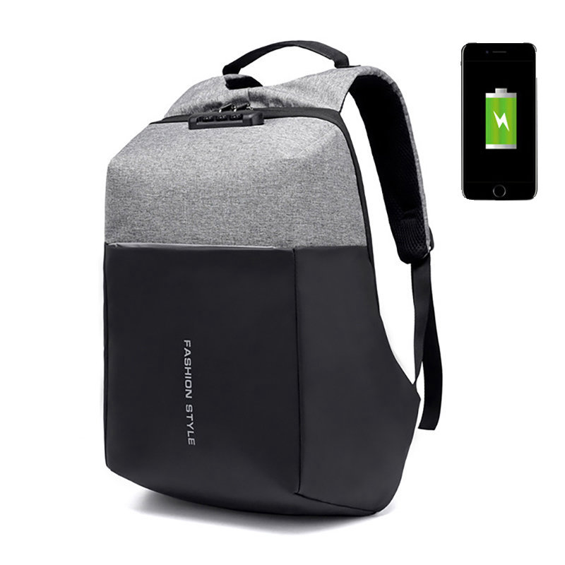 17 Inch Laptop Bag USB Charging Port