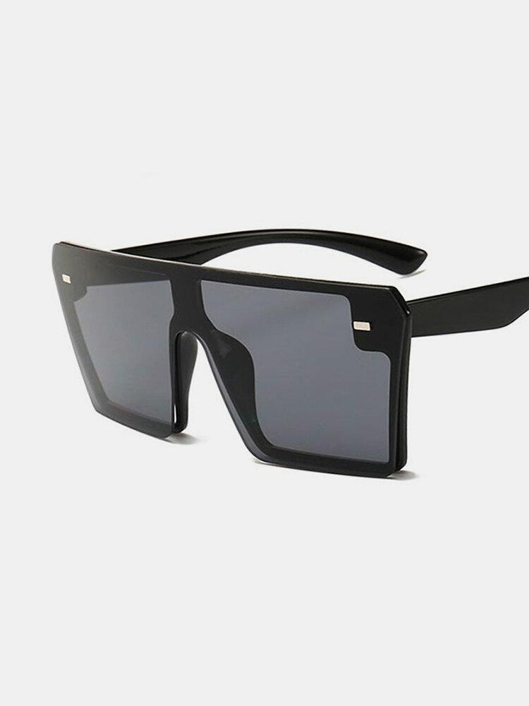 Big Box Color Mercury Retro Personality Sunglasses, #05;#06;#08