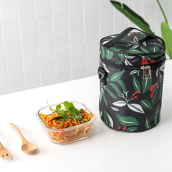 Waterproof Portable Lunch Box Insulation Bag Lunch Bag Thickened with Rice Bag