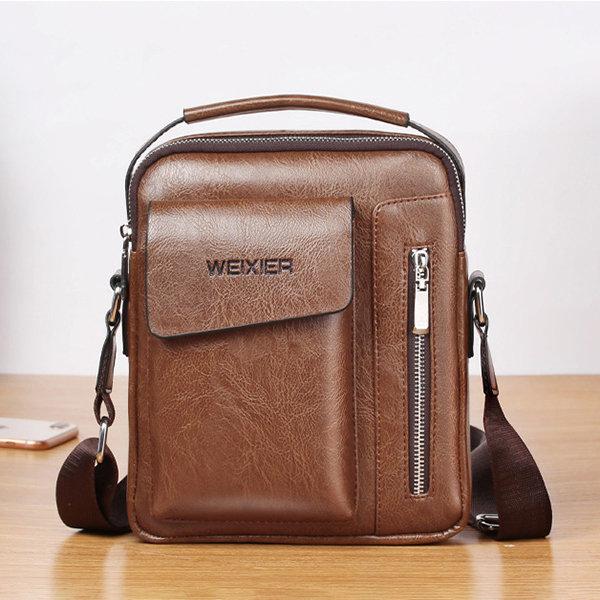 Men Business Multi-pockets Crossbody Bag