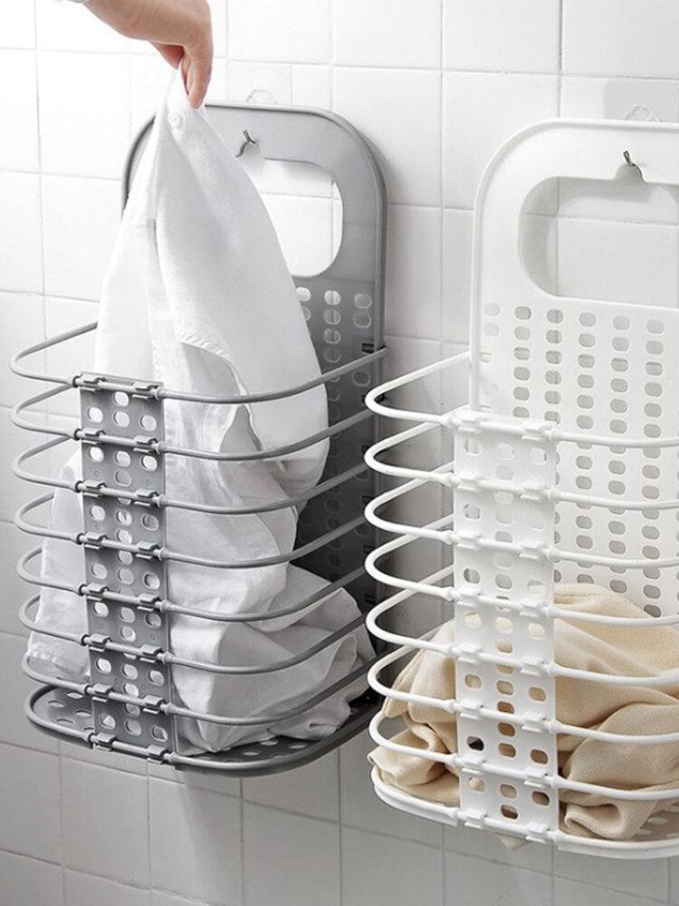 Cesta de almacenamiento de lavandería Cesta de lavandería plegable Ropa de almacenamiento Hogar de lavandería