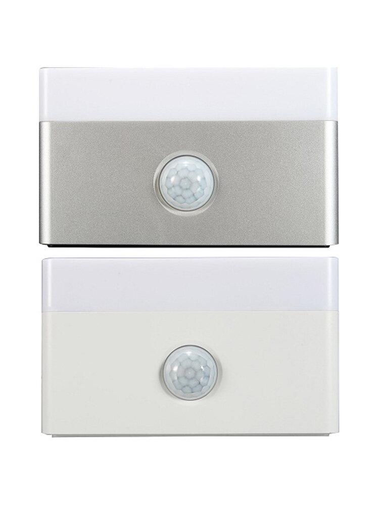 USB Power Charger PIR Motion Sensor LED Night Light Home Corridor Lamp Supplies