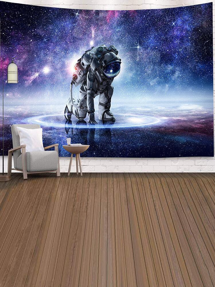 رائد الفضاء نسيج جدار الفن مخدر نسيج غرفة نوم المنزل الستار نسيج نسيج الجدار