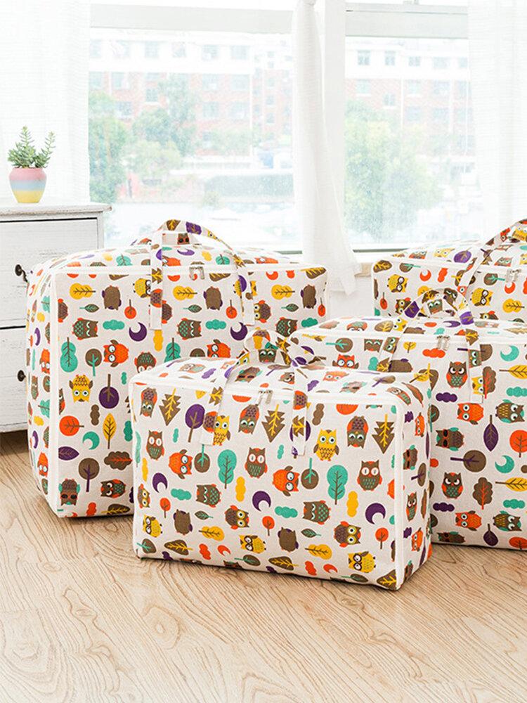 Cotton Moisture Pest Control Cloth Clothing Soft Storage Bag