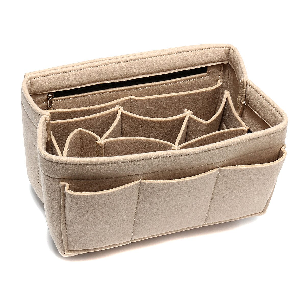 Felt Insert Bag Multi Pockets Handbag Purse Organizer (SKU909747) photo