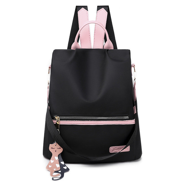 Women Oxford Cloth Anti-theft Large Capacity Backpack