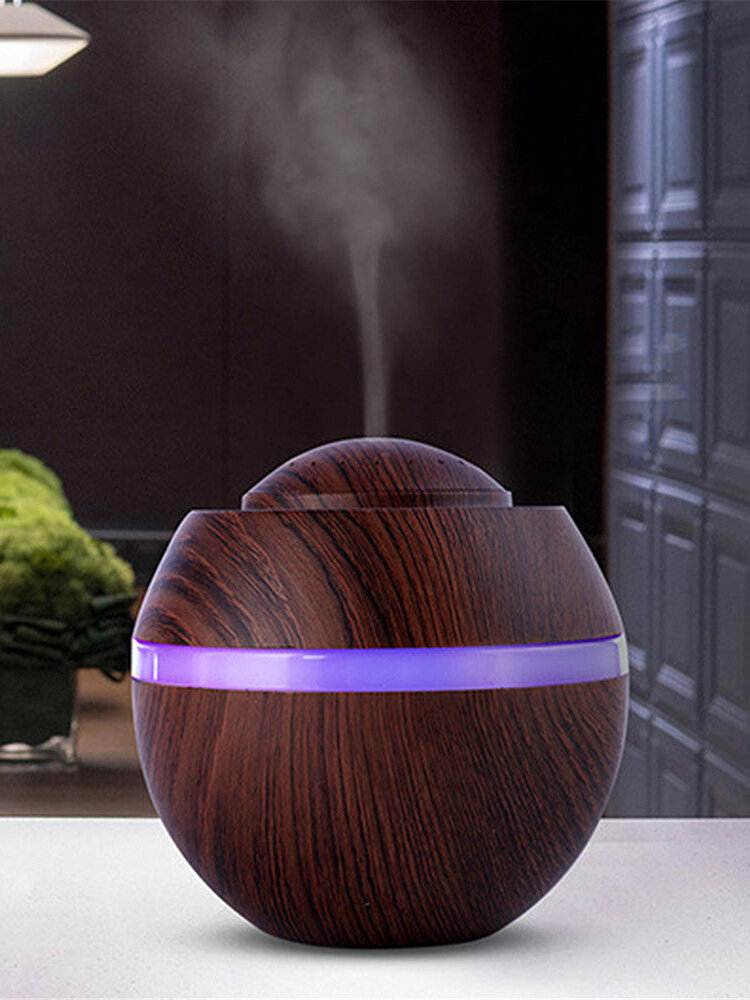 500ml Essential Oil Aroma Diffuser Aromatherapy Ultrasonic Humidifier USB  LED Night Oil Diffuser