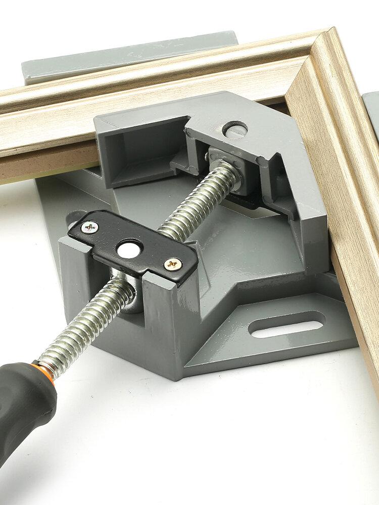 90度コーナークランプ直角木工バイスウッド/金属溶接/溶接