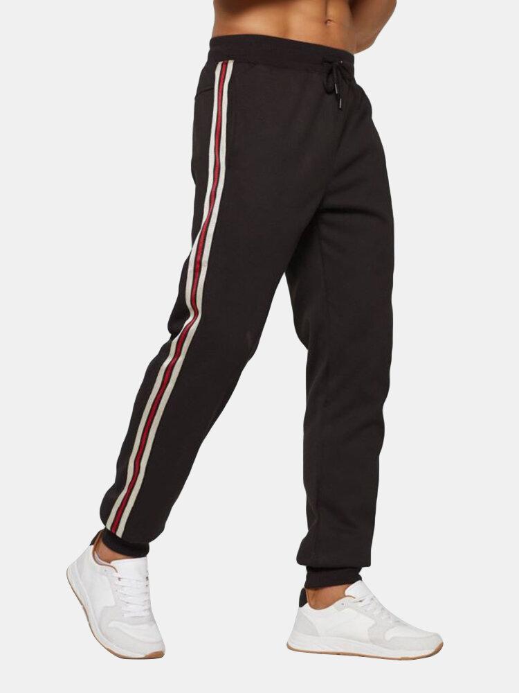 Pantalon de jogging à taille moyennes - Newchic - Modalova