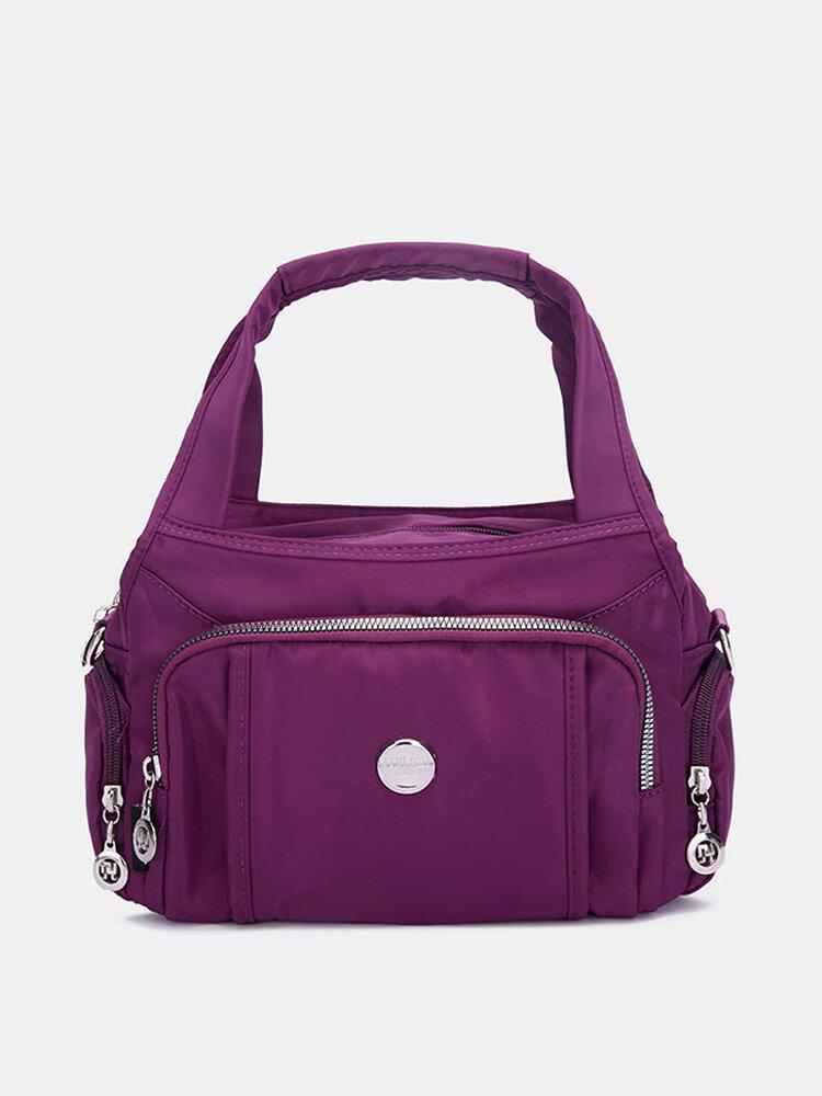 Woman Light Handbag Nylon Multi-Function And Practical Shoulder Bag