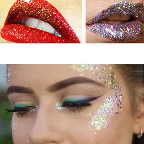 Makeup Glitter Eyeshadow Powder Cosplay Eye Shadow Lip Eyes Pigment Party