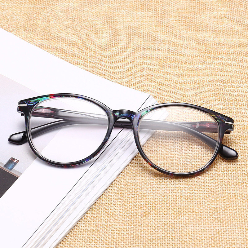 Reading Eye Glasses Vintage Round Shape Frame Eyewear HD Lens Eyeglasses