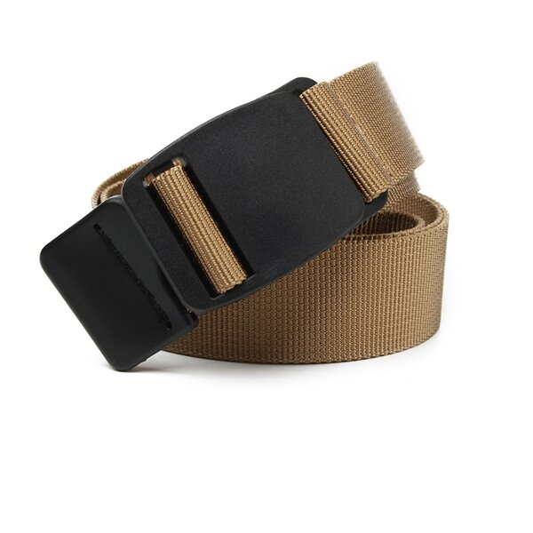 Men Women Casual Canvas Belt Outdoor Belt Quick-drying Nylon Weave Waistband