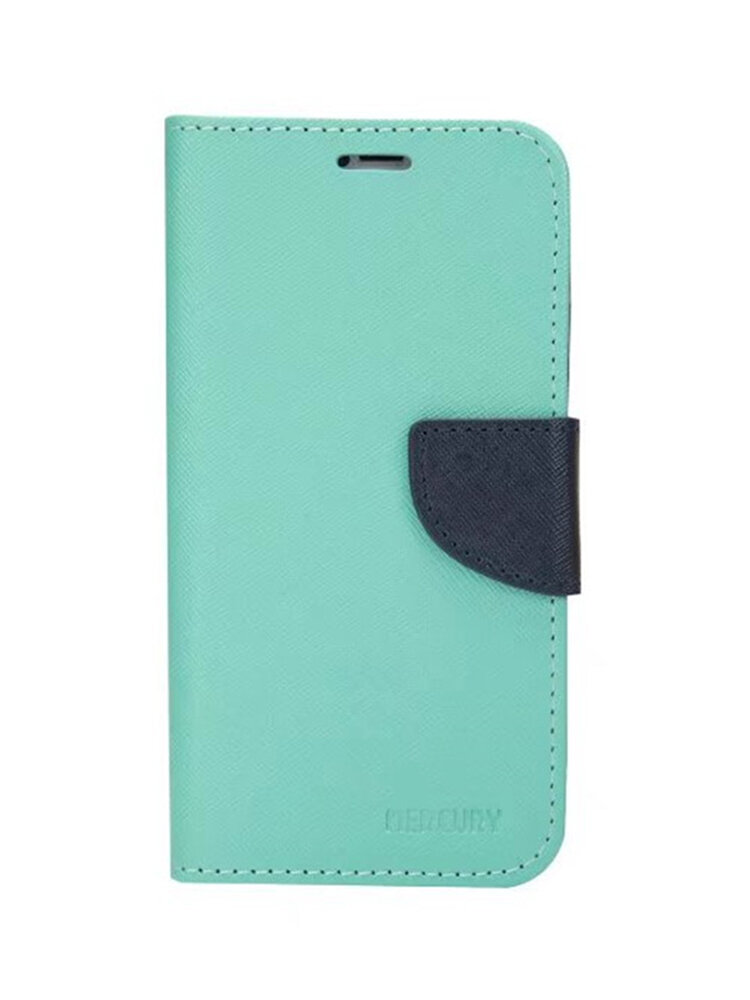 PU Solid Color Contrast Color Splicing Mobile Phone Case