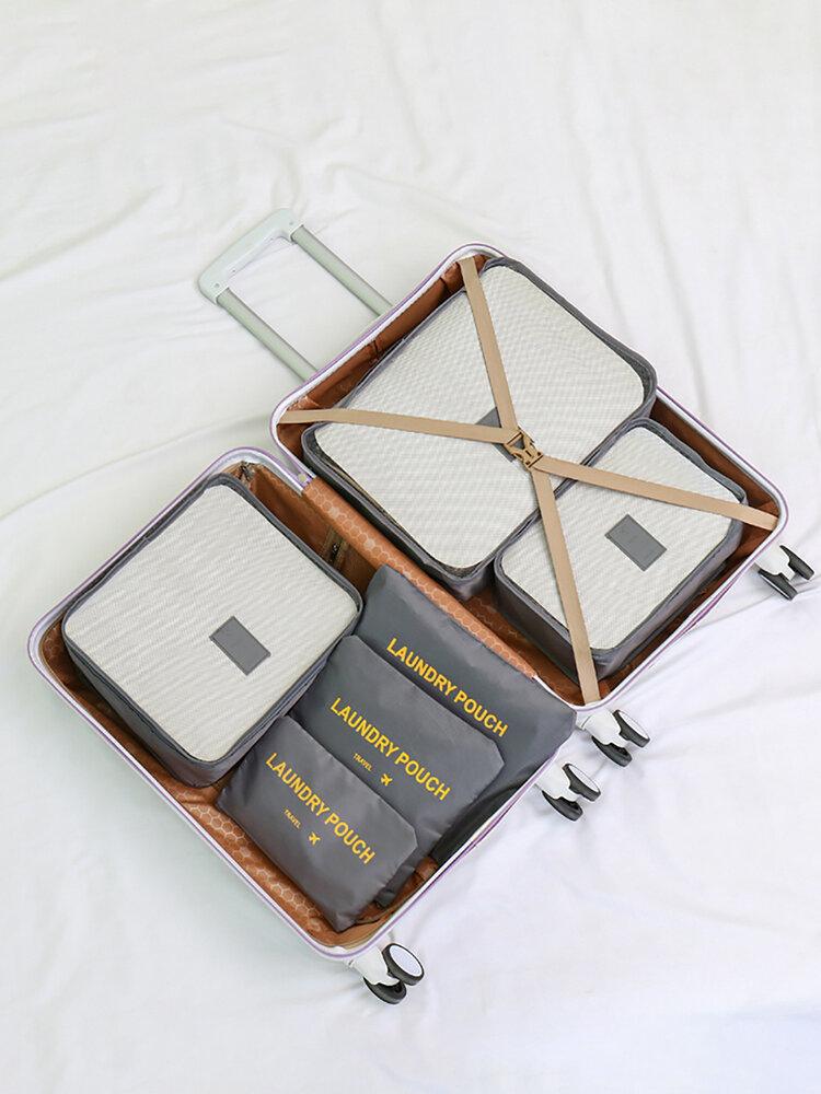 Sechsteilige Reisetasche Multifunktions-Reisetasche