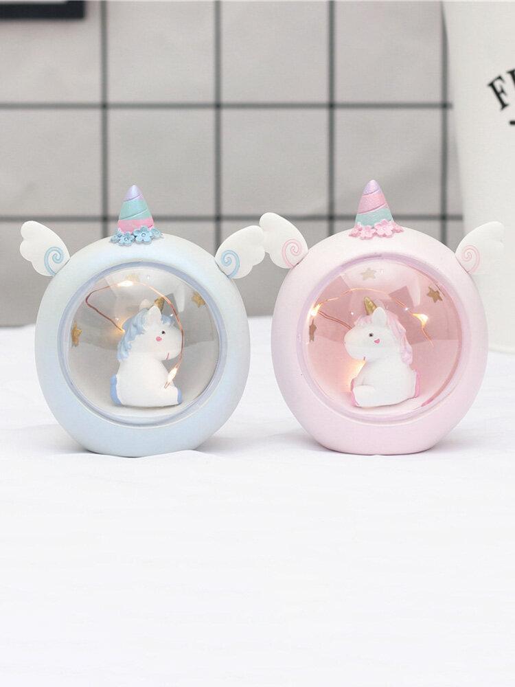 Unicorn Star Light Night Light Christmas Gift for Kid Bedroom Decor Sweet Night Light