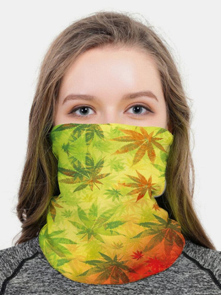 Lightweight Breathable Turban Anti-UV Printed Mask Dustproof Sunscreen Quick-drying