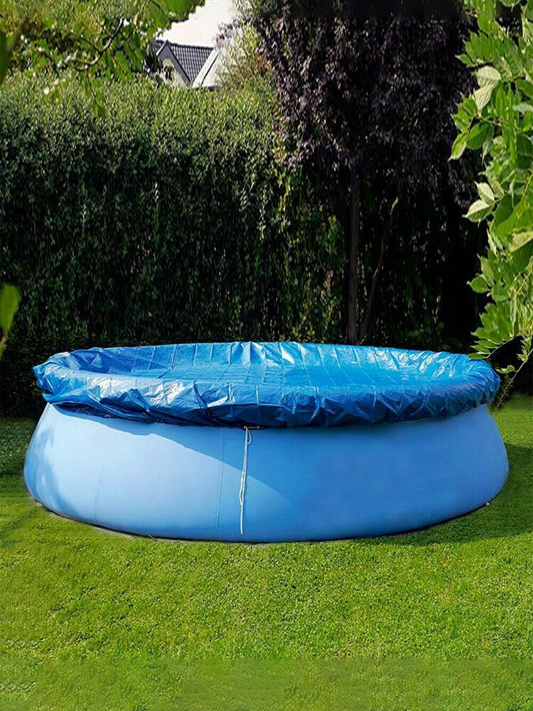 Rectangular Swimming Pool Cover Round Swimming Pool Cover UV-resistant Waterproof Dust Cover Durable