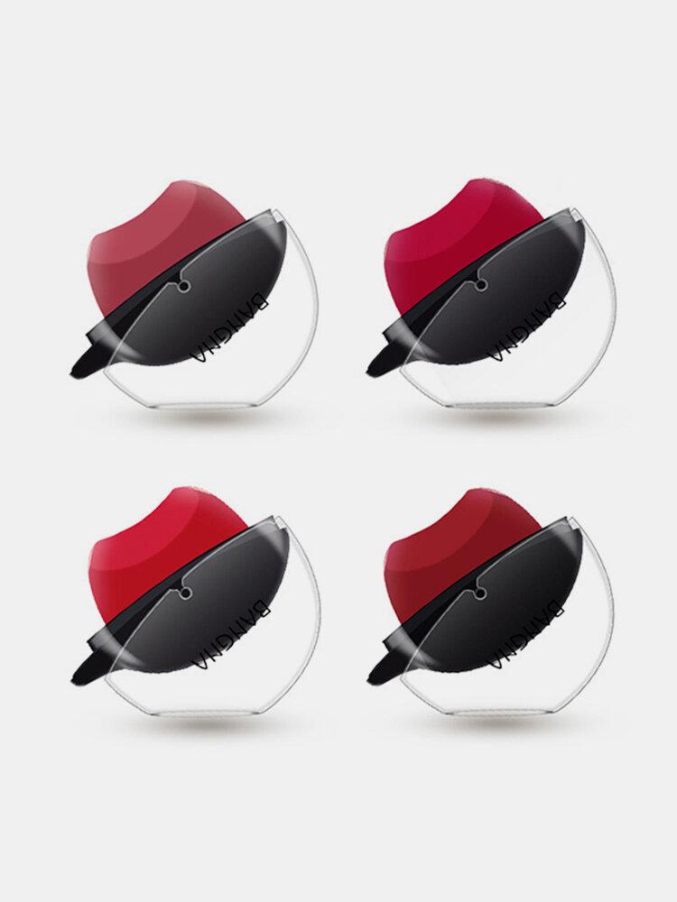 BANGNA Lip Shape Moisturizer Lipsticks Cosmetic Long Lasting Batom Pigment Red Lips Stick Stamp