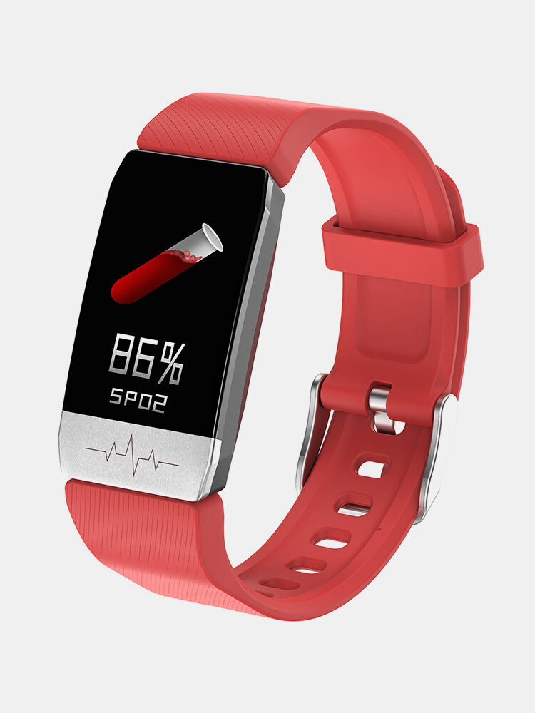 Thermometer ECG Monitor Heart Rate Blood Pressure SpO2 Monitor Health Care GPS Run Route Track Smart Watch