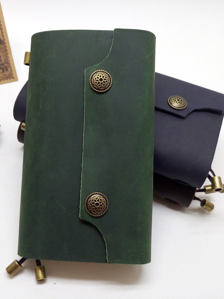 Vintage Notebook Diary Planner Binder Leather Notebooks And Journals Travelers Diary
