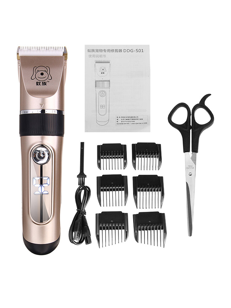 USB Dog Shaver Pet Electric Clipper Cat Hair Professional Electric Clipper Trimming Haircut Artifact