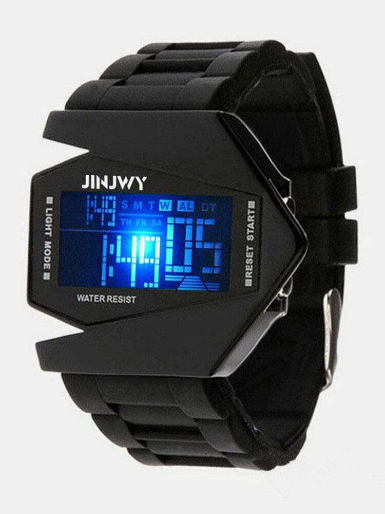 Multi-Function LED Display Men Watch Luminous Waterproof Electronic Watch