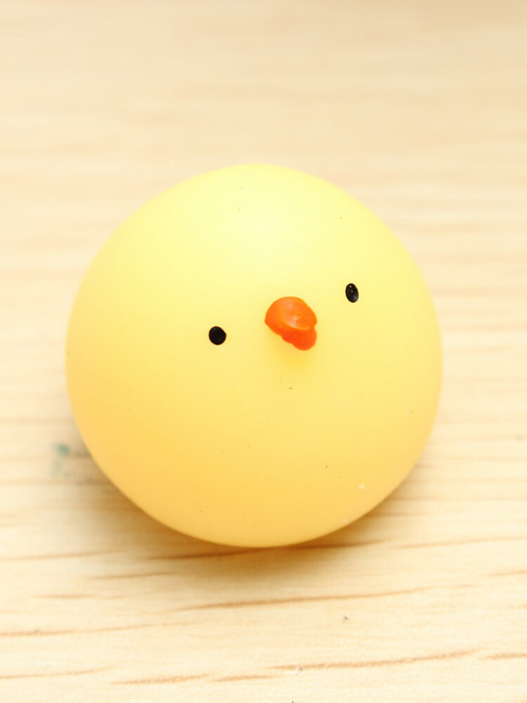 Mochi Fat Chicken Squishy Squeeze Cute Healing Toy Kawaii Collection Stress Reliever Gift Decor