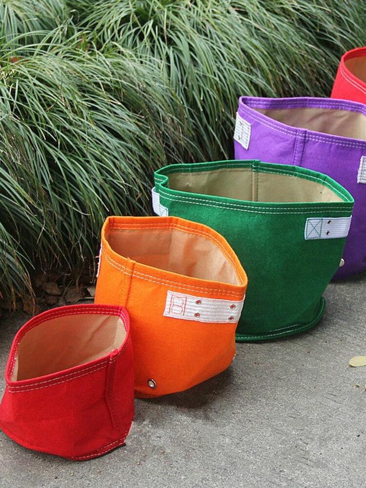 イチゴプランターバッグ折りたたみ式ガーデン成長バッグホーム屋外野菜花植え