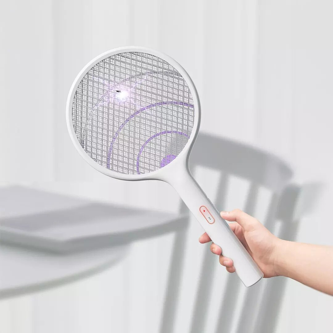 2in1 Electric Mosquito Swatter Dispeller /Mosquito Killer Lamp Wall-mounted Mosquito Killing Dispeller USB Charging With