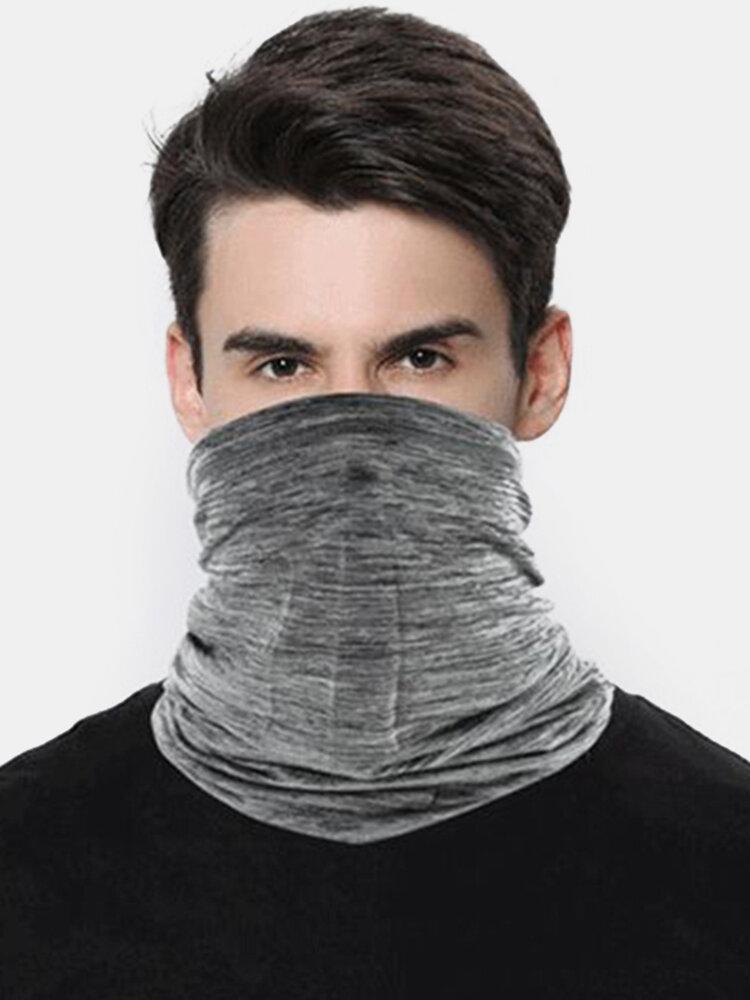 Ice Silk Sunscreen Turban Triangle Scarf Breathable Sunscreen Riding Mask