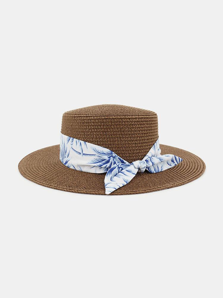 Women Travel Vacation Beach Hat Jazz Straw Hat Sun Protection Sun Hat