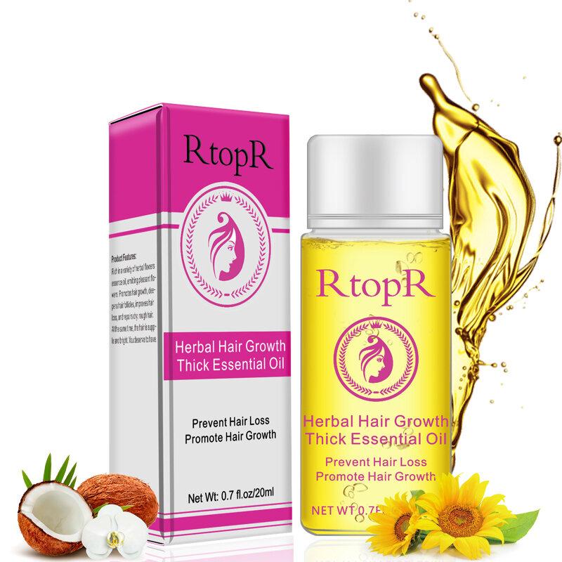 Anti Hair Loss Essential Liquid Herbal Promote Hair Growth Oil Thick Hair Treatment Oil Hair Care