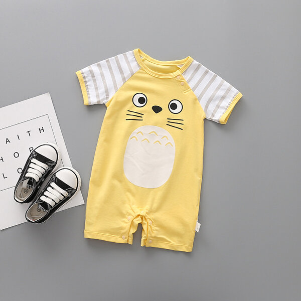 4e5ef3927 ... Cute Animal Pattern Baby Short Sleeve Romper For 0-24M. Share Get Coupon