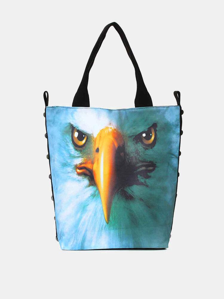 New Women 3D Animals Printed Handbag