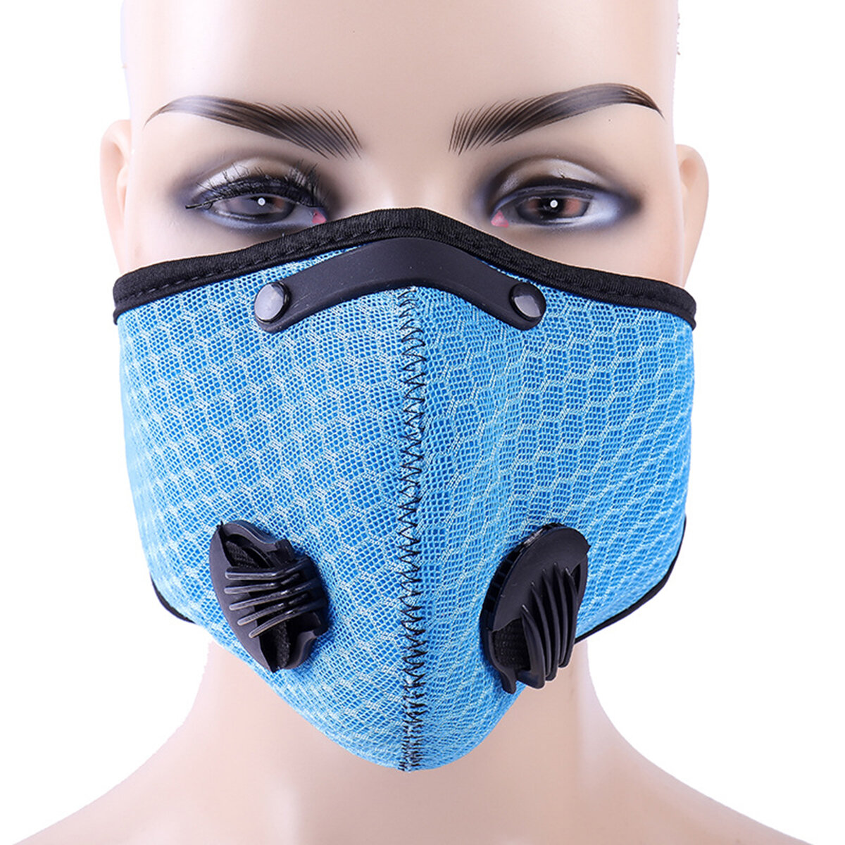 3D Activated Carbon Anti Dust PM2.5 Face Mask Outdoor Riding Mask Breathable Mouth Masks Sports Mask
