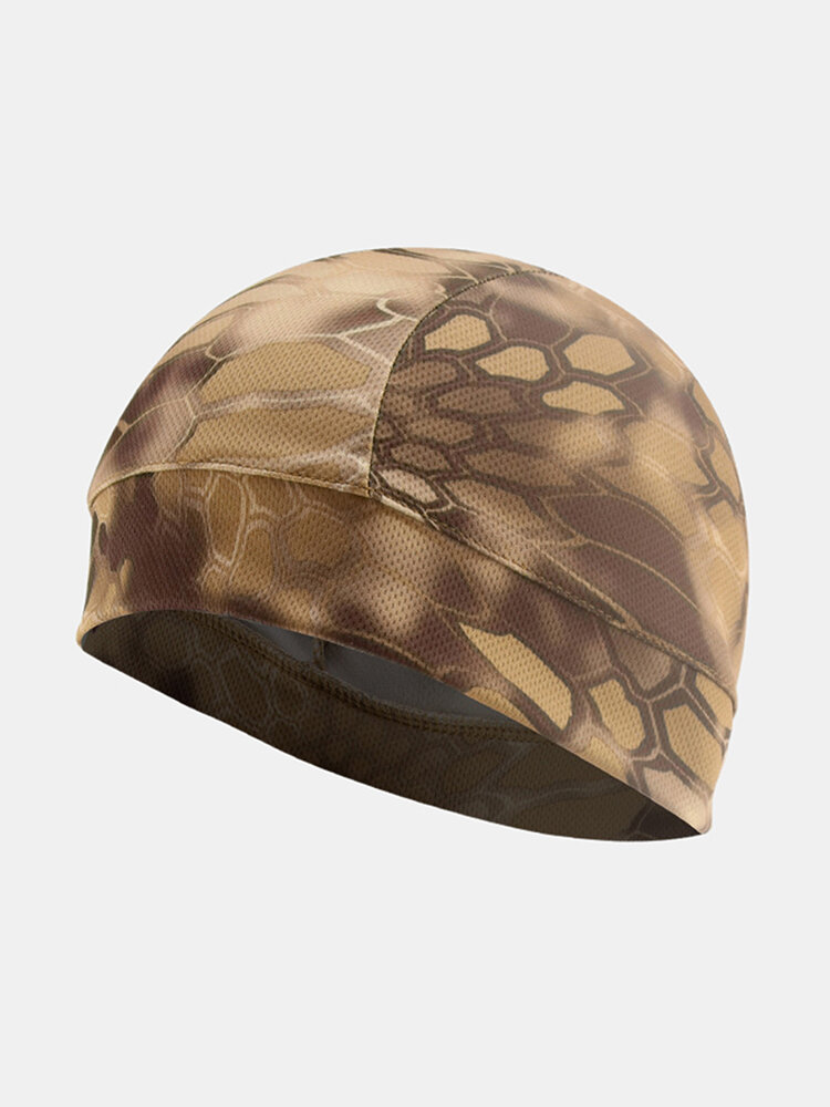 Men & Women Quick-drying Turban Perspiration Breathable Beanie Outdoor Riding Pirate Hat Bandana