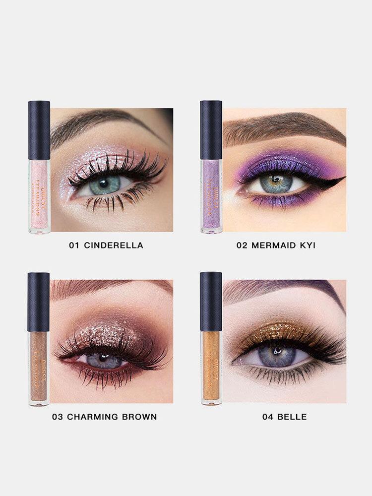 10 Color Liquid Eyeshadow Set Dreamy Pearlescent highlight Waterproof Long-Lasting Makeup Eyeshadow
