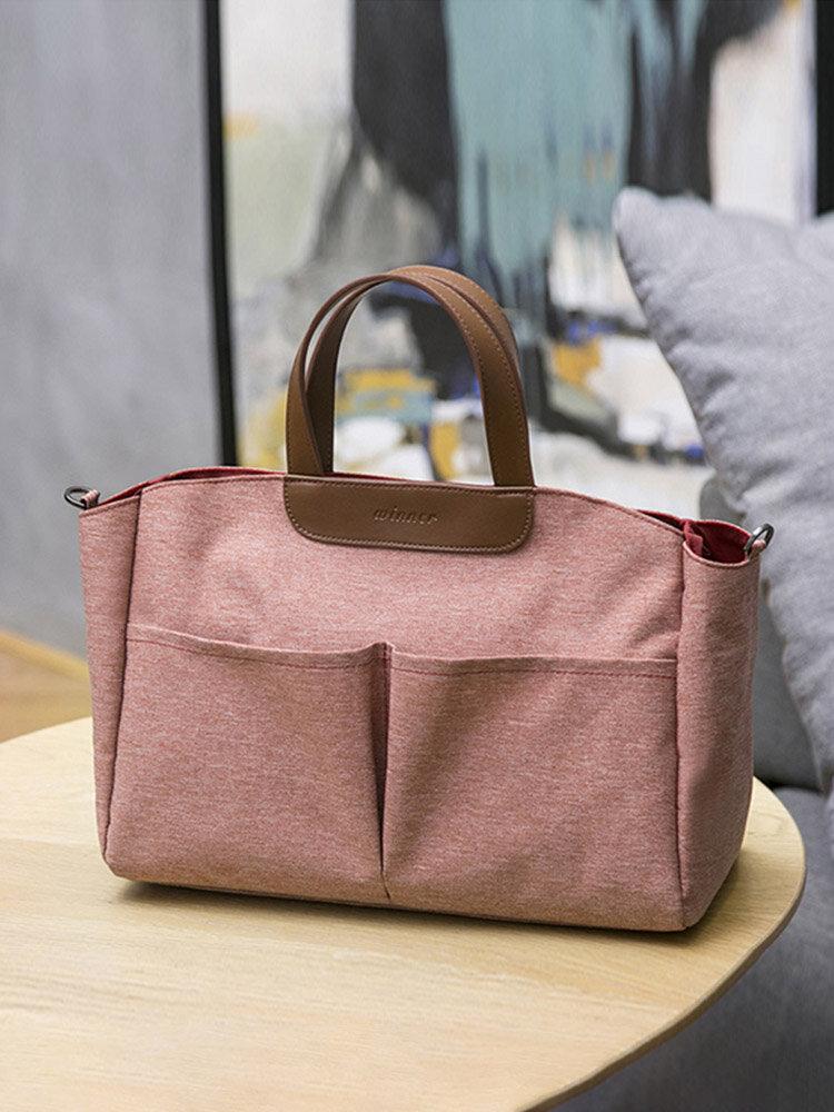 Casual Nylon Lightweight Handbag Tote Storage Bags