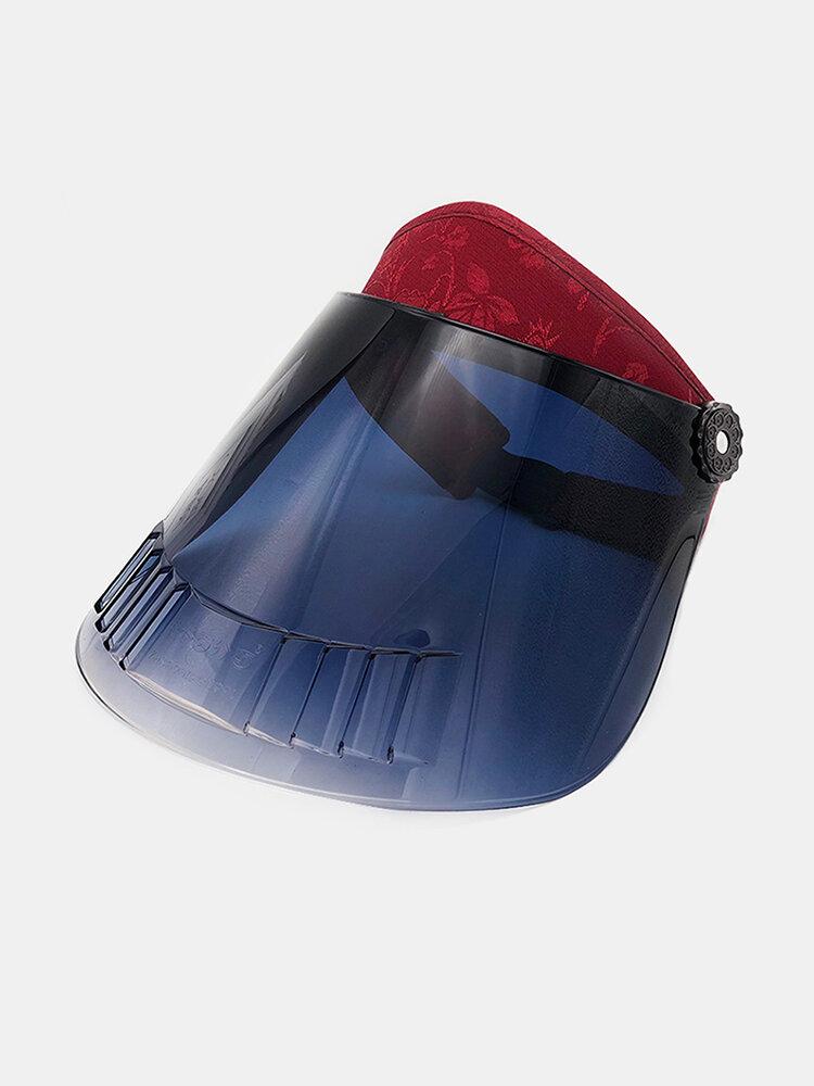 Anti-fog Anti-UV Outdoor Cover Face Sun Hat Adjustable
