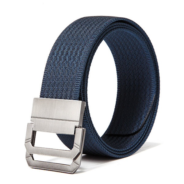 130CM Mens Double Ring Nylon Outdoor Military Tactical Belts Casual Canvas Alloy Buckle Jeans Belt