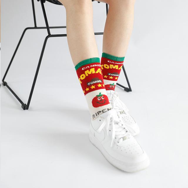 Men's Women's Skateboard Men And Women Long Tube Cotton Socks
