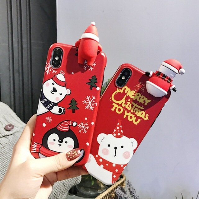 Christmas Cartoon Phone Shell For iphone All Inclusive