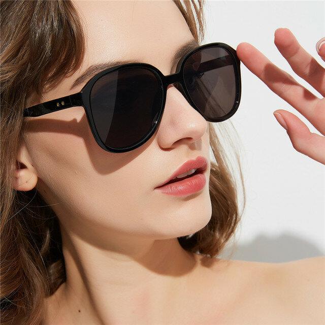 Candy Color Glasses Women Fashion Nightclub Men's Box Color Sunglasses